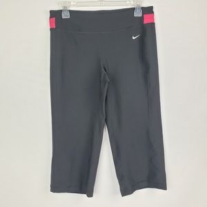 Nike Dri Fit Capris black sports pants size medium